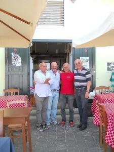 da sinistra: Di Meglio, Corbino, Esposito e Califano